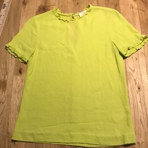 Like new! Offers welcome! Kate Spade Ruffle Blouse